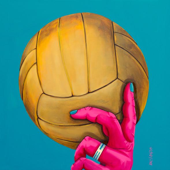 Fussball-DenkMal Ball