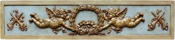 rilievo-con-putti-legno-dorato-e-laccato