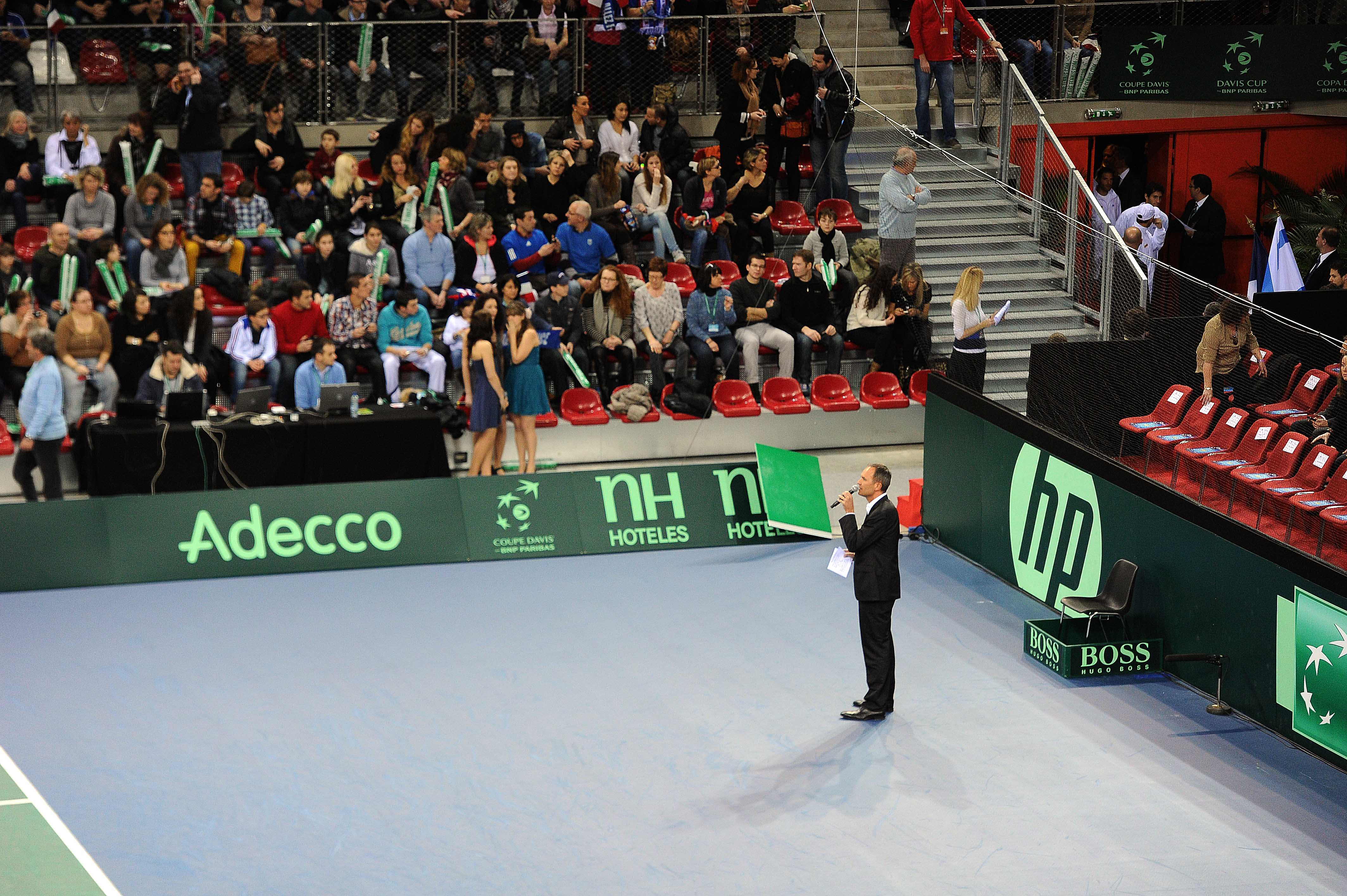 Speaker Coupe Davis & Fed Cup