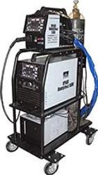 комплектный импульсный полуавтомат инверторного типа с синергетическим управлением