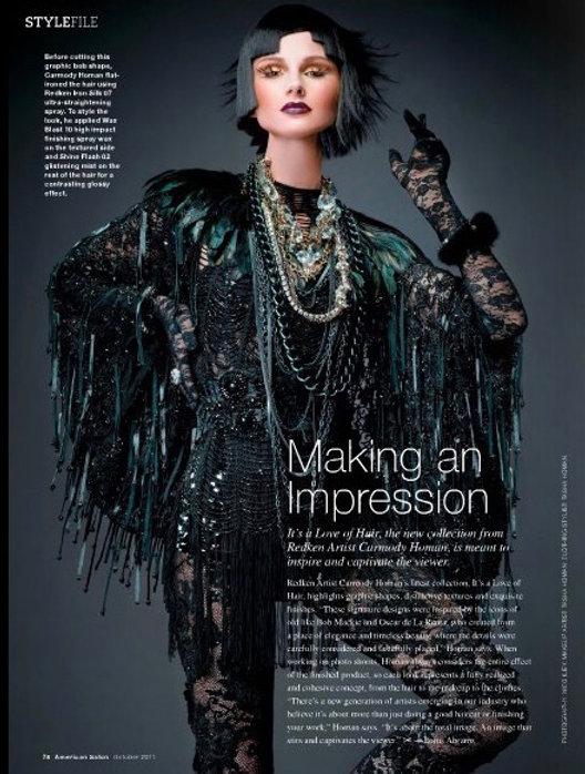 Editorial styled by Tasha Homan Hair by Carmody Homan