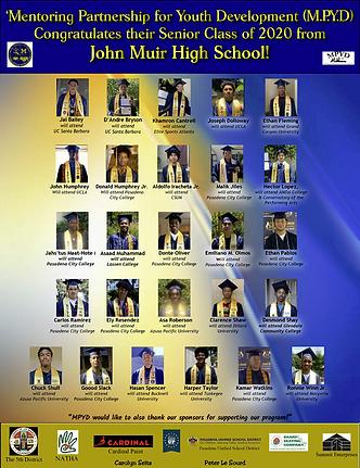 MPYD Senior Class of 2020