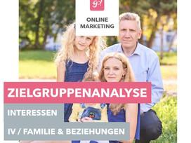 Facebook Werbung schalten   Zielgruppenanalyse   Interessen Teil 4   Familie und Beziehungen