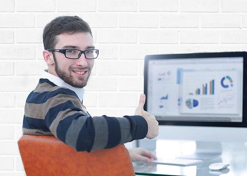 Individuelle Homepage Analyse über Google Analytics