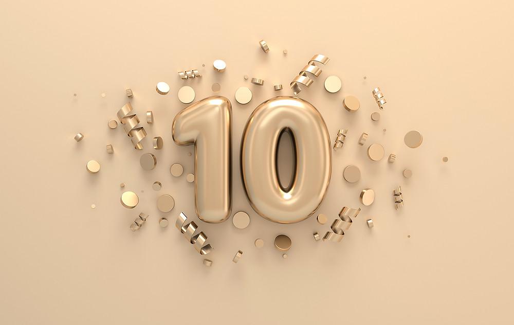 Die WGW feiert das 10-jährige Firmenjubiläum.