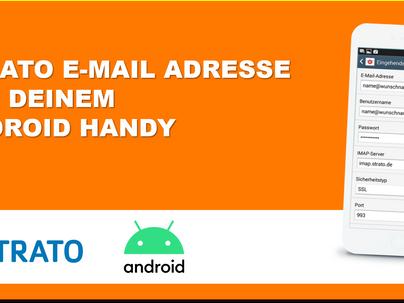So richtest Du Deine E-Mail Adresse im Smartphone ein [Android]