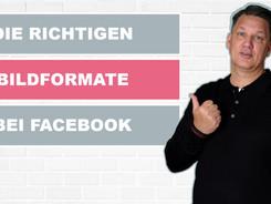 Die richtigen Bildformate für Facebook
