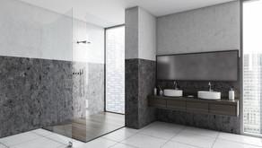 Bodentiefe, ebenerdige Dusche