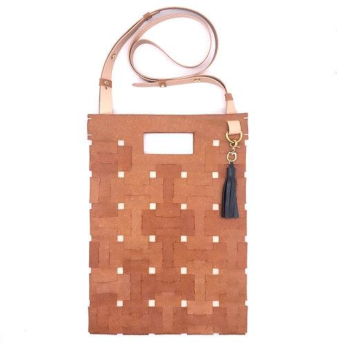 Medium Lock Bag (Camel Brown)