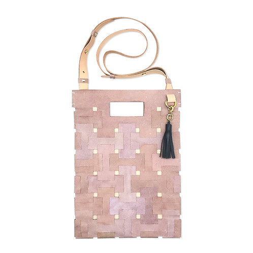 Medium Lock Bag (Pastel Purple)