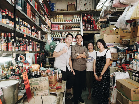 Story behind the HK traditional grocery store