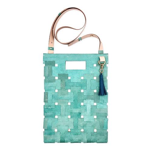Medium Lock Bag (Turquoise)