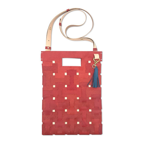 Medium Lock Bag (Red)