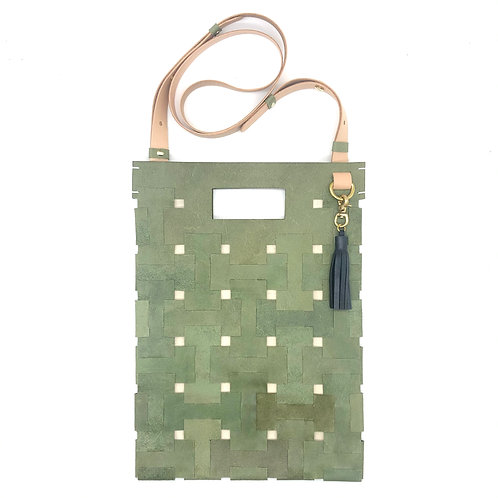 Medium Lock Bag (Olive Green)