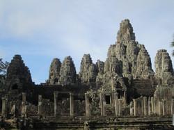 Temple Bayon, Siem Reap, Cambodge