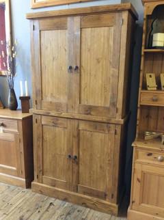 4 door rustic cupboard