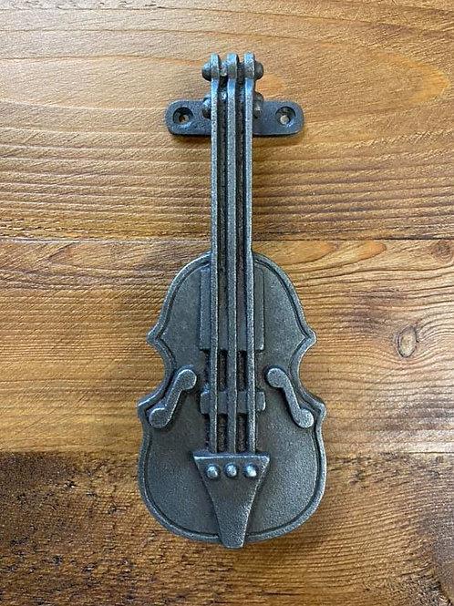 Cast Iron Violin Door Knocker