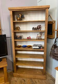 Rustic 2 tone bookcase