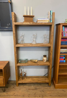 Chunky rustic bookcase