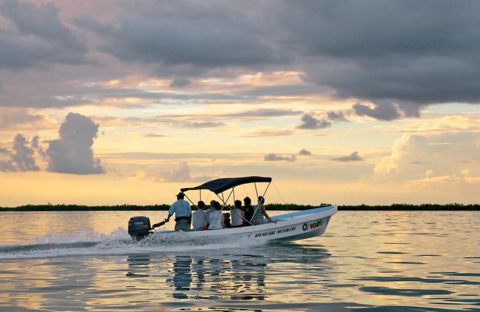 Sian Ka´an Reserve Boat tour