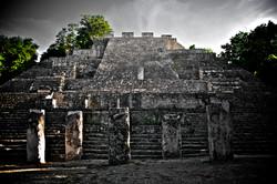 Calakmul Archaeological site