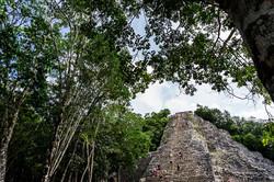 Nohoch muul Coba archaeological