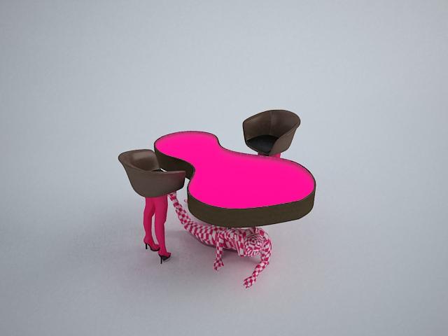 Mueble Discoteca CreamPie