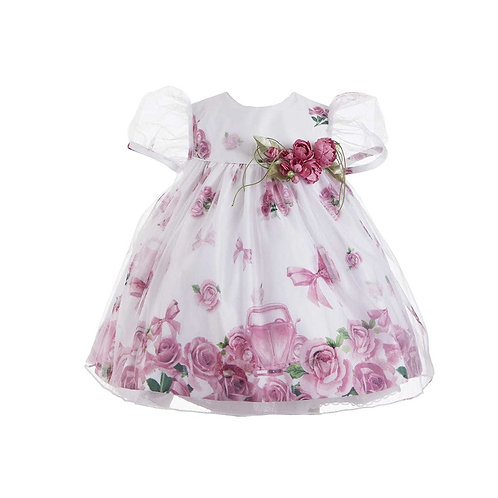 Vestido Bebê Flores da Mio Bebe