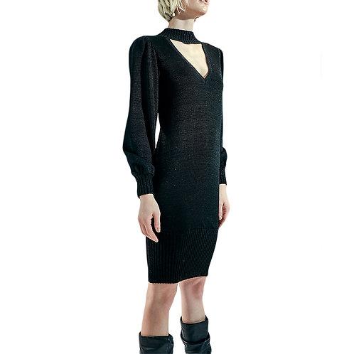 Vestido de Tricot Gola da Alphorria A.Cult