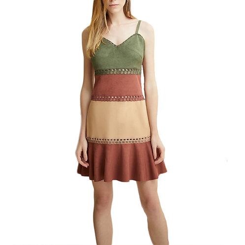 Vestido Tricolor da Alphorria