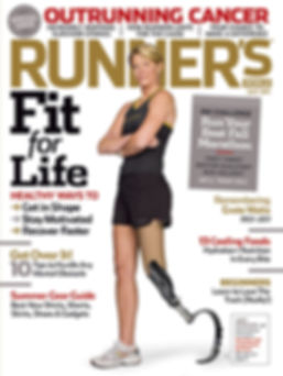Amy Dodson Runner's World Cover