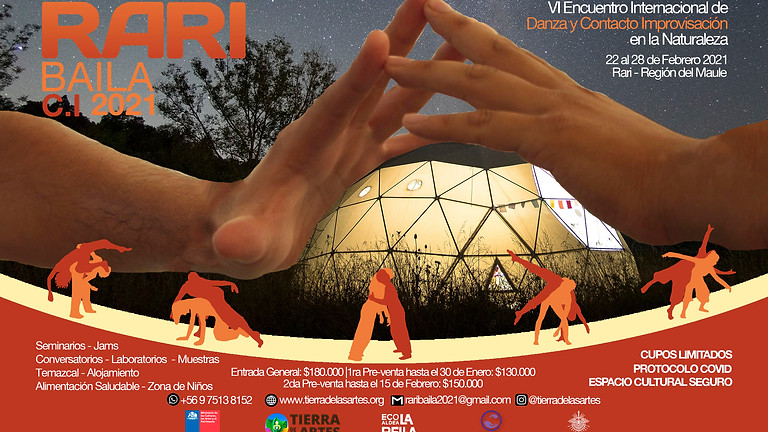 Rari Baila VI Encuentro Internacional Danza