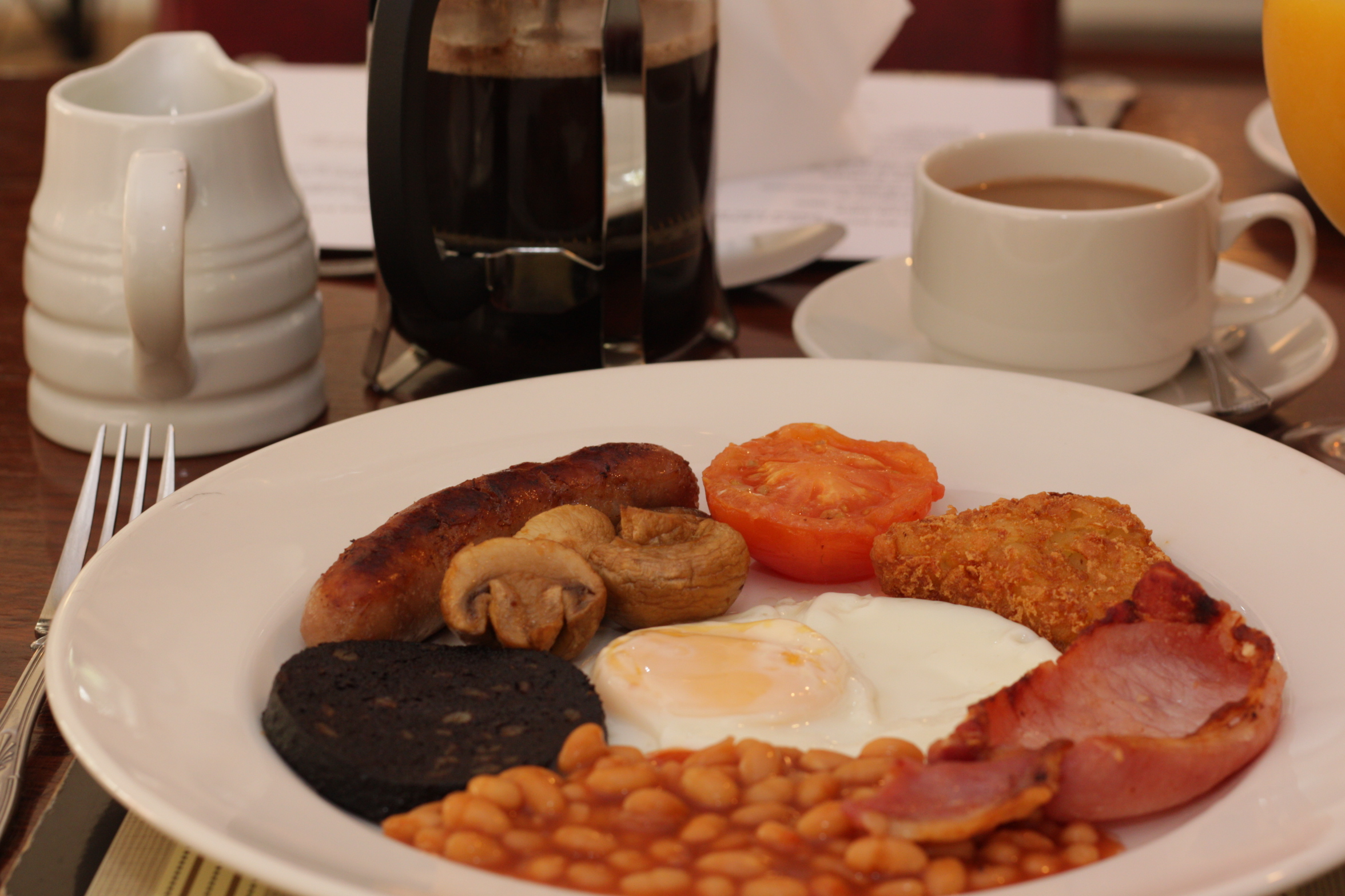 Nuneaton Hotel Breakfast