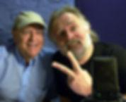 Rik Mayall ad Dave Dutton inThe Last Hurrah studio