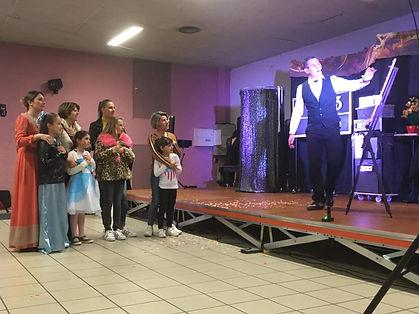 spectacle de magie enfants landes pyréné