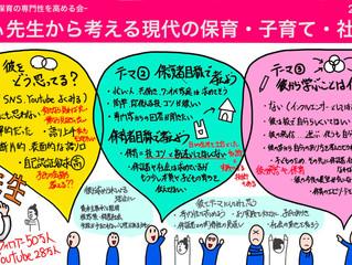 【開催報告・グラレコ】第19回 えどぴ -保育の専門性を高める会-@ZOOM