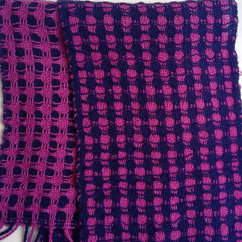 Hand Woven Pure Wool Scarf