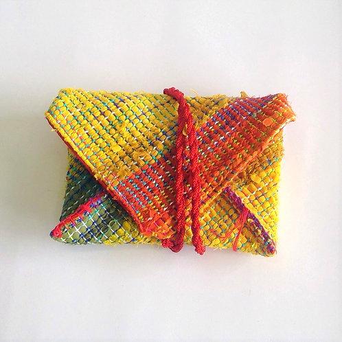 Santoku-Bukuro Pouch (A6) - Hand Woven