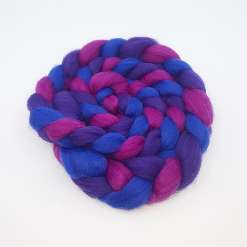 Blue/Mauve/Purple Braid