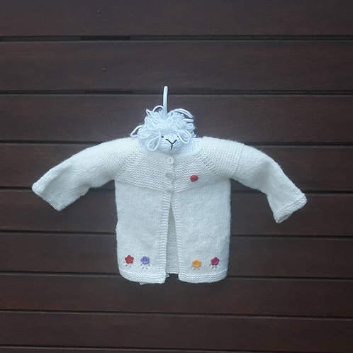 Baby's white jacket