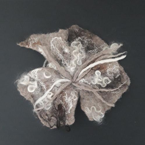 Felted flower Brooch (20cm)