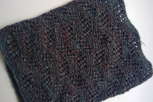 Hand Knitted Lace Cowl