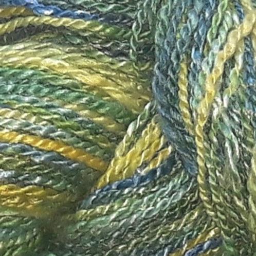 Hand Spun Wool/Bamboo Blend