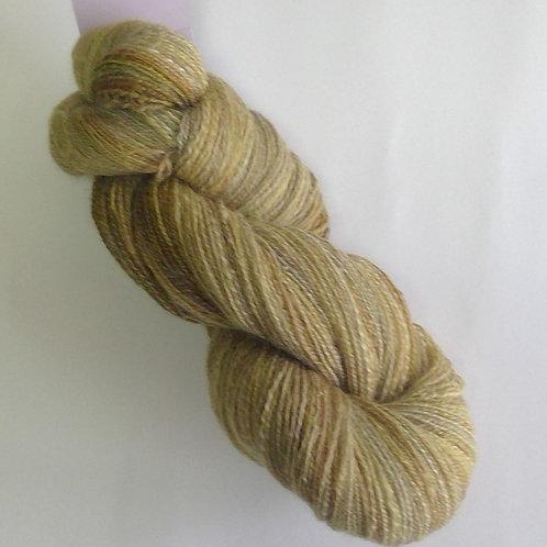 Hand Spun Wool Silk