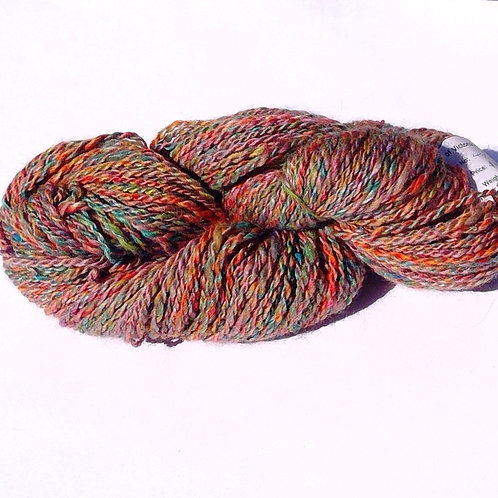 Hand SpunWool and Silk Yarn