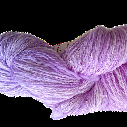 Purple hand spun wool
