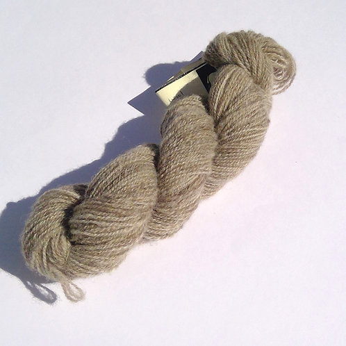 Natural Grey Finn & Corridale Yarn