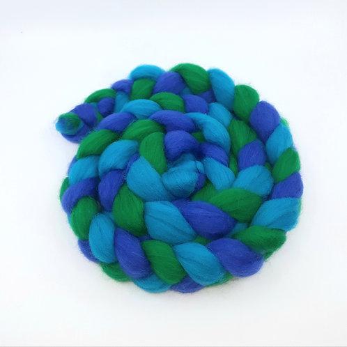 Tri Coloured Merino Braid