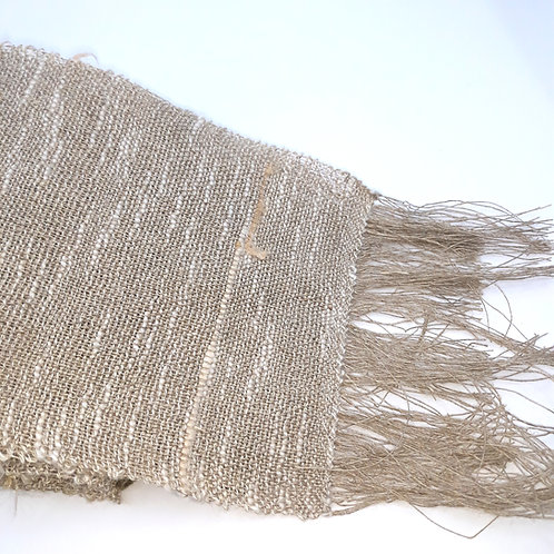 Linen, Cotton and Silk Scarf