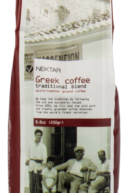 NEKTAR GREEK COFFEE  250gr